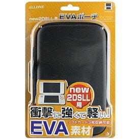 アローン ALLONE new2DSLL用 EVAポーチ ブラック ALG-N2DEPK[New2DS LL]