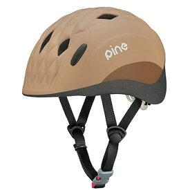 OGK オージーケー 子供用ヘルメットPINE(ミンクベージュ/47〜51cm)