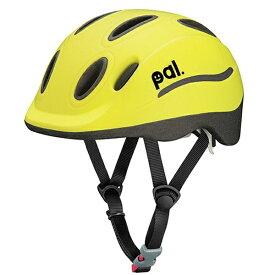 OGK 子供用ヘルメットPAL(ライムイエロー/49〜54cm)