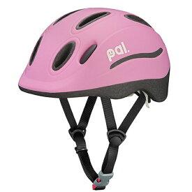 OGK 子供用ヘルメットPAL(ピーチピンク/49〜54cm)