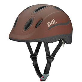 OGK 子供用ヘルメットPAL(マロンブラウン/49〜54cm)