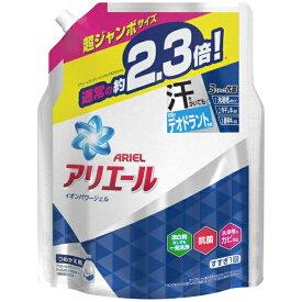 P&G ピーアンドジー ARIEL(アリエール)イオンパワージェル サイエンスプラス つめかえ用 超ジャンボサイズ (1620g) 〔衣類用洗剤〕