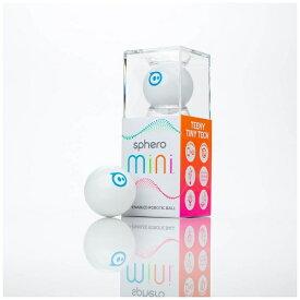 SPHERO スフィロ Sphero Mini ホワイト [M001WAS] 〔スマートトイ+プログラミング学習〕【STEM教育】[M001WAS]