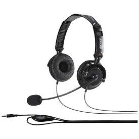BUFFALO バッファロー BSHSHCS310BK ヘッドセット ブラック [φ3.5mmミニプラグ /両耳 /ヘッドバンドタイプ][BSHSHCS310BK]