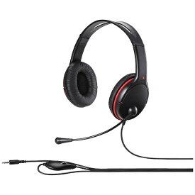 BUFFALO バッファロー BSHSHCS300BK ヘッドセット ブラック [φ3.5mmミニプラグ /両耳 /ヘッドバンドタイプ][BSHSHCS300BK]