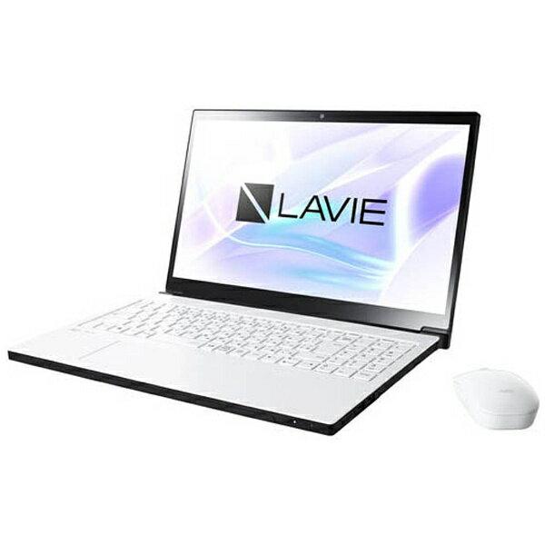 【送料無料】 NEC 15.6型ワイドノートPC LAVIE Note NEXT[Office付き・Win10]PC-NX750JAW(2017年10月モデル・グレイスホワイト)[PCNX750JAW]