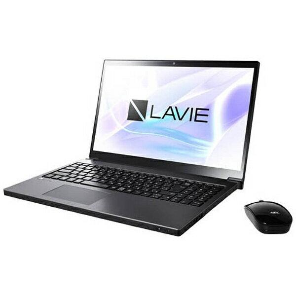 【送料無料】 NEC 15.6型ワイドノートPC LAVIE Note NEXT[Office付き・Win10]PC-NX750JAB(2017年10月モデル・グレイスブラックシルバー)[PCNX750JAB]