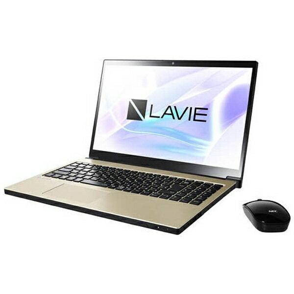 NEC エヌイーシー PC-NX550JAG ノートパソコン LAVIE Note NEXT グレイスゴールド [15.6型 /intel Core i5 /HDD:1TB /メモリ:4GB /2017年10月モデル][PCNX550JAG]