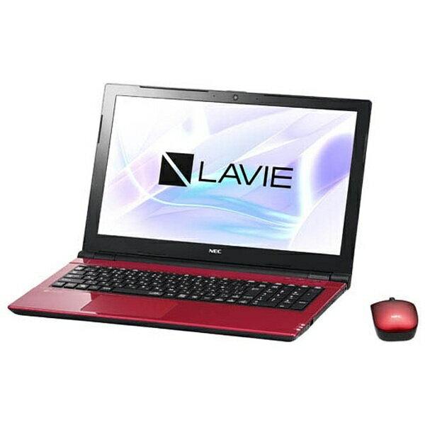 【送料無料】 NEC 15.6型ワイドノートPC LAVIE Note Standard[Office付き・Win10]PC-NS700JAR(2017年10月モデル・ルミナスレッド)[PCNS700JAR]