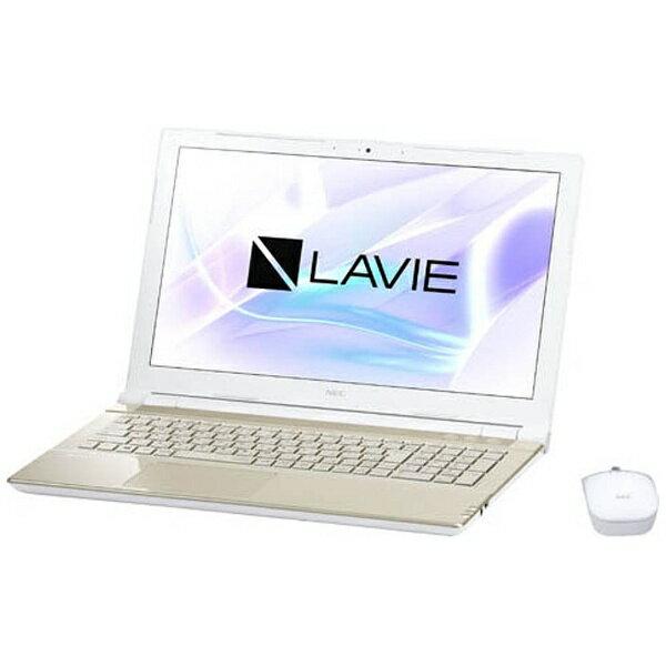 【送料無料】 NEC 15.6型ワイドノートPC LAVIE Note Standard[Office付き・Win10]PC-NS700JAG(2017年10月モデル・シャンパンゴールド)[PCNS700JAG]