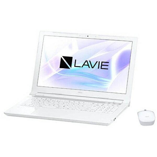 【送料無料】 NEC 15.6型ワイドノートPC LAVIE Note Standard[Office付き・Win10]PC-NS730JAW(2017年10月モデル・エクストラホワイト)[PCNS730JAW]