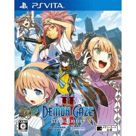 角川ゲームス KADOKAWA GAMES デモンゲイズ2 Global Edition【PS Vitaゲームソフト】
