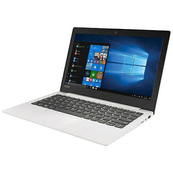 【送料無料】 レノボジャパン 11.6型ノートPC[Office付き・Win10 Home・Celeron・SSD 128GB・メモリ 4GB] Lenovo ideapad 120S ブリザードホワイト 81A4002BJP (2017年秋モデル)