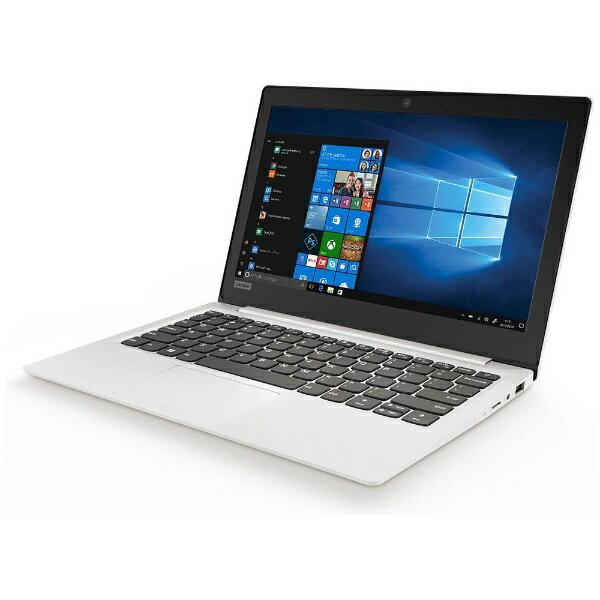 【送料無料】 レノボジャパン 11.6型ノートPC[Win10 Home・Celeron・SSD 128GB・メモリ 4GB] Lenovo ideapad 120S ブリザードホワイト 81A400C9JP (2017年秋モデル)