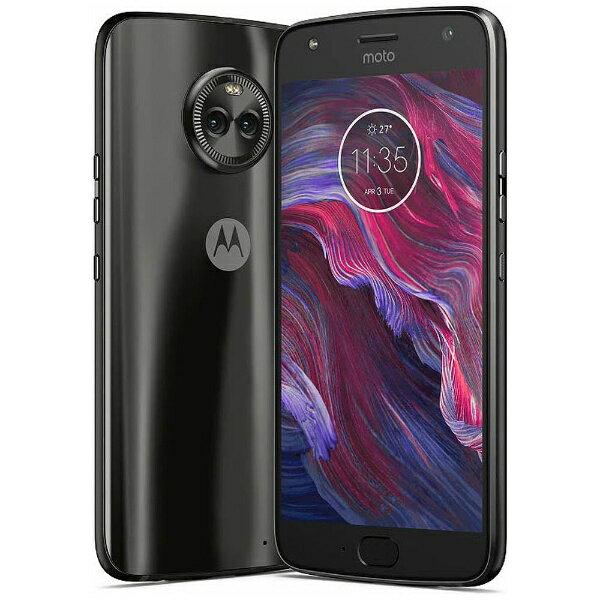 モトローラ Motorola 【防水】 Moto X4スーパーブラック「PA8T0015JP」 Snapdragon 630 5.2型・メモリ/ストレージ:4GB/64GB nanoSIMx2 DSDS対応 ドコモSIM対応 SIMフリースマートフォン[PA8T0015JP]