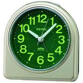 セイコー SEIKO 目覚まし時計 【スタンダード】 薄金色パール KR332G [アナログ /電波自動受信機能有]
