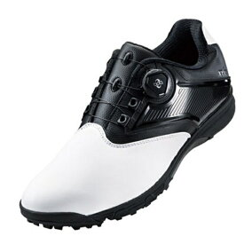 アシックス asics 27.5cm メンズ ゴルフシューズ GEL-TUSK 2 Boa(ホワイト×ブラック) TGN921