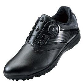 アシックス asics 27.5cm メンズ ゴルフシューズ GEL-TUSK 2 Boa(ブラック×ブラック) TGN921