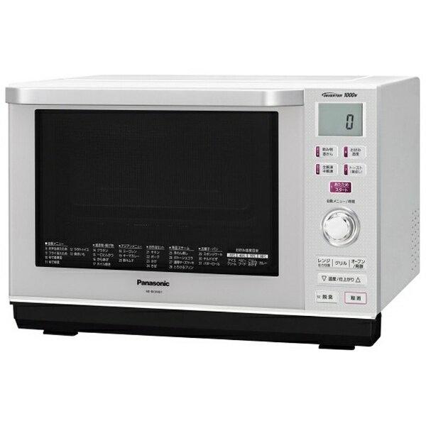 【送料無料】 パナソニック NE-BKM401-W オーブンレンジ 「エレック」(26L) NE-BKM401-W ホワイト【ビックカメラグループ限定販売】[NEBKM401]