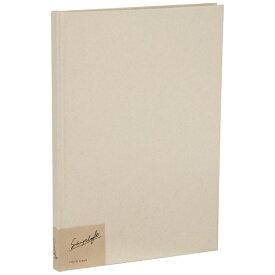 ナカバヤシ Nakabayashi simplaft(シンプラフト) フォトアルバム プラコート台紙(クラフト) A4(ホワイト) アSPTA4BW