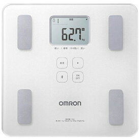オムロン OMRON HBF-228T 体組成計 KaradaScan(カラダスキャン) シャイニーホワイト [スマホ管理機能あり][体重計 体脂肪計 スマホ連動 HBF228TSW]