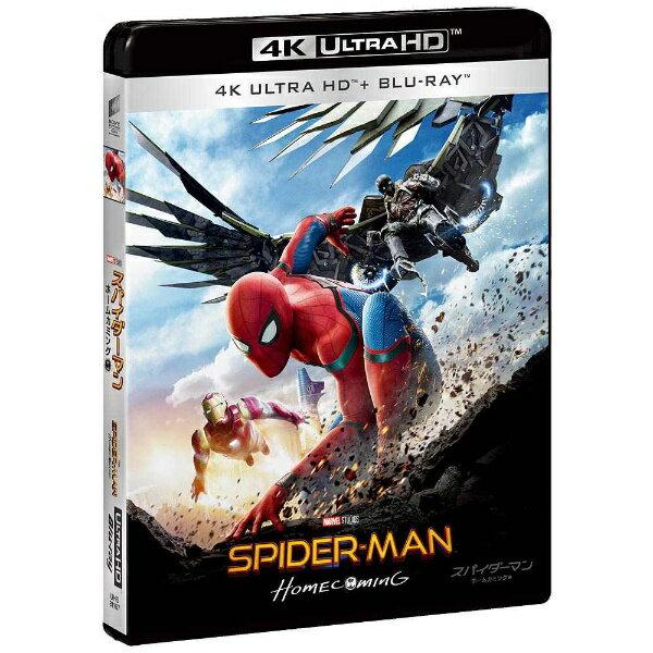 ソニーピクチャーズエンタテインメント Sony Pictures Entertainment スパイダーマン:ホームカミング 4K ULTRA HD & ブルーレイセット(初回生産限定) 【Ultra HD ブルーレイソフト】
