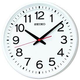 セイコー SEIKO 掛け時計 教室の時計 白 KX623W