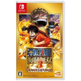 バンダイナムコエンターテインメント BANDAI NAMCO Entertainment ワンピース 海賊無双3 デラックスエディション【Switchゲームソフト】