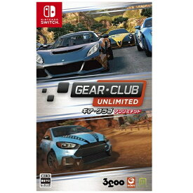 3GOO サングー GEAR・CLUB Unlimited【Switchゲームソフト】
