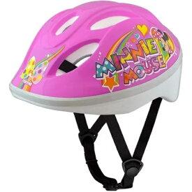 アイデス ides 子供用ヘルメット キッズヘルメットS ミニーマウスPP(ピンク/53〜57cm) 01862 36369【4〜8歳向け/SG規格基準】
