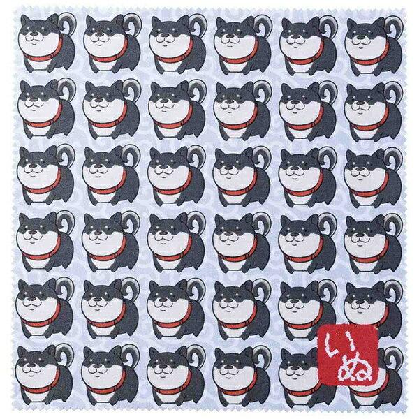 名古屋眼鏡 【数量限定】干支メガネ拭き(2018戌年/パープル柴犬)