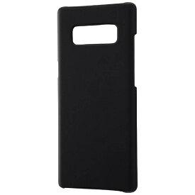 レイアウト rayout Galaxy Note8用 ハードケース マットコート ブラック RT-GN8C4/B
