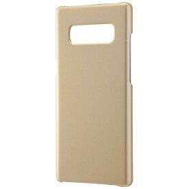レイアウト rayout Galaxy Note8用 ハードケース マットコート ゴールド RT-GN8C4/CG