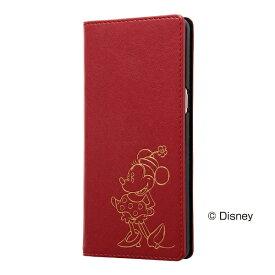 レイアウト rayout Galaxy Note8用 ディズニー 手帳型ケース ホットスタンプ ワンポイント ミニーマウス RT-DGN8I/MN