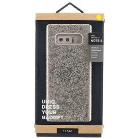 MSソリューションズ Galaxy Note8用 シェル型ケース グリッターデザイン Topaz Champagne・ゴールド VIVA MADRID GN8HYB-TPZGLD