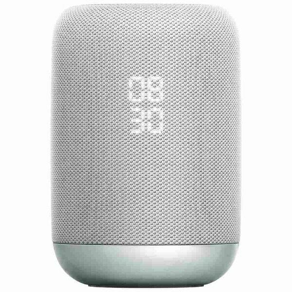 ソニー SONY LF-S50G WC スマートスピーカー(AIスピーカー) ホワイト [Bluetooth対応 /防滴][LFS50GWC]