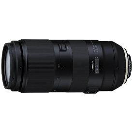 タムロン TAMRON カメラレンズ 100-400mm F/4.5-6.3 Di VC USD ブラック A035 [キヤノンEF /ズームレンズ][A035E_100_400DI_VC_U]
