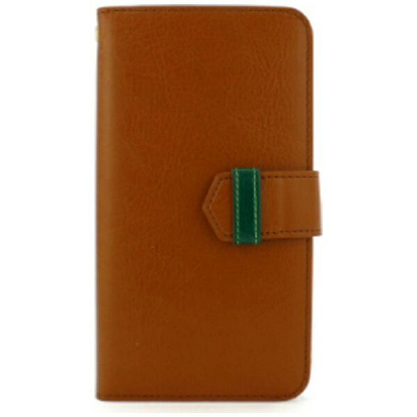 FANTASTICK iPhone X用 手帳型レザーケース Diary Case Leather ブラウン B06B955-A079-18