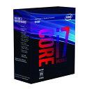 インテル Intel Core i7-8700K BOX品[CPU][BX80684I78700K]