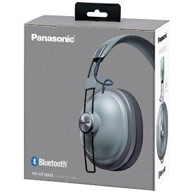 パナソニック Panasonic ブルートゥースヘッドホン クールグレー RPHTX80 [リモコン・マイク対応 /Bluetooth][RPHTX80B] panasonic