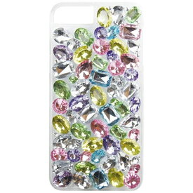CASEPLAY ケースプレイ iPhone 8 Plus用 JEWEL DROP DECO スウィートパステル JEWELPASTELIP78+