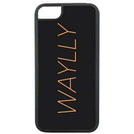 ケースオクロック caseoclock iPhone 8用 Waylly Logo オレンジ WL67-LG-OR 壁に張り付くケース