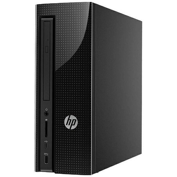 【送料無料】 HP モニター無 デスクトップPC [Office付き・Win10 Home・Celeron・HDD 500GB・メモリ4GB] HP Slimline 270-p011jp ベーシックOffice Personalモデル Z8F10AA-AABD (2017年11月モデル)[Z8F10AAAABD]