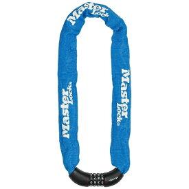 マスターロック Master Lock ダイヤル式チェーンロック(暗証番号ロック) 90cm ブルー 8392JADPROBLU
