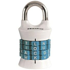 マスターロック Master Lock ナンバー可変式南京錠 1535JADWDTEAL ブラック