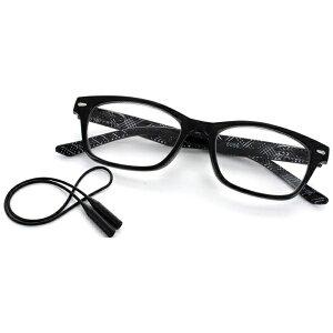名古屋眼鏡 Nagoya Gankyo 老眼鏡 ライブラリーコンパクト 5086(ブラック×チェック柄/+1.50)