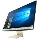 【送料無料】 ASUS 23.8型デスクトップPC[Win10 Home・Core i3・HDD 500GB・メモリ 4GB] ASUS Vivo AIO ブラ...