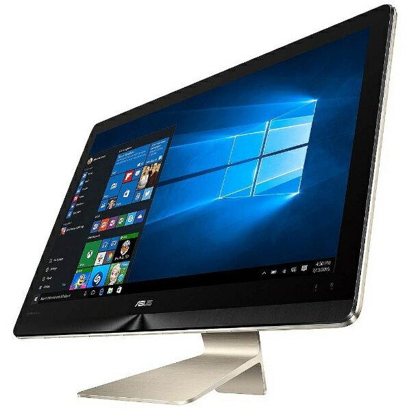 【送料無料】 ASUS 23.8型デスクトップPC[Win10 Home・Core i5・HDD 1TB+SSD 128GB・メモリ 8GB] ZenAIO ゴールド Z240IEGK-GA076T【ビックカメラグループオリジナル】[Z240IEGKGA076T]