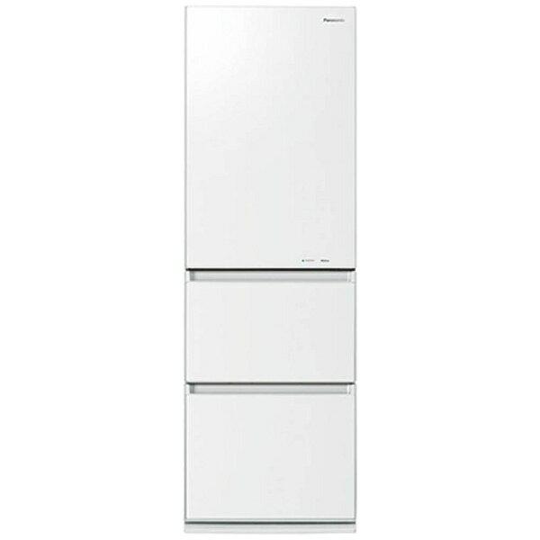 パナソニック Panasonic NR-C37HGM-W 冷蔵庫 スノーホワイト [3ドア /右開きタイプ /365L][NRC37HGM_W] panasonic