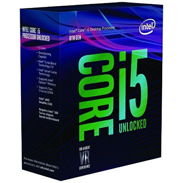 【送料無料】 インテル [CPU]Intel Core i5-8600K